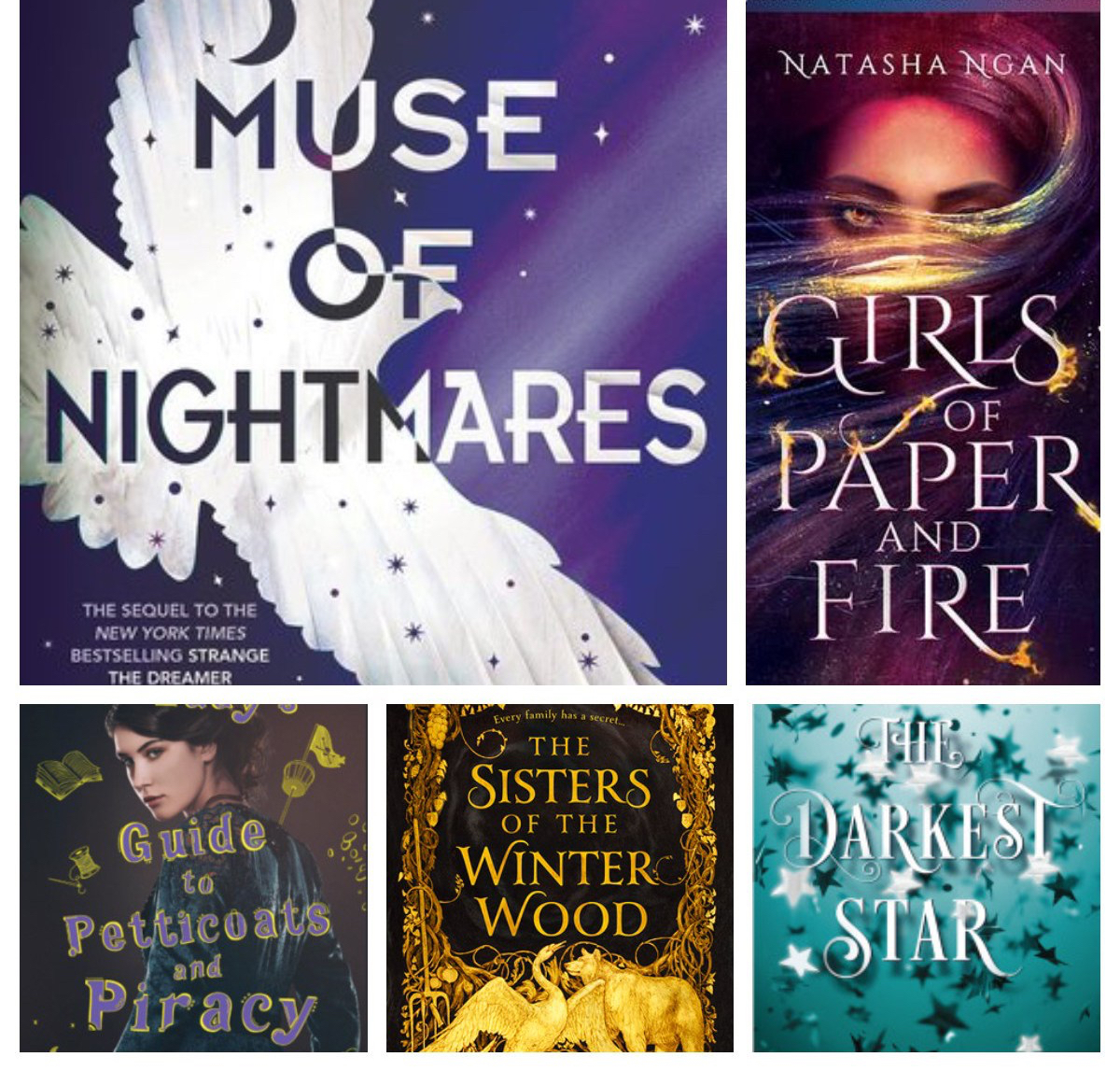 Ten books I'm excited to read thisfall