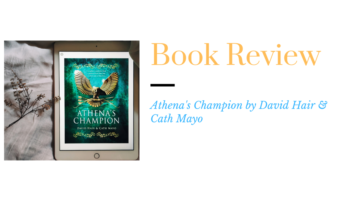 Review: Athena's Champion by David Hair & CathMayo