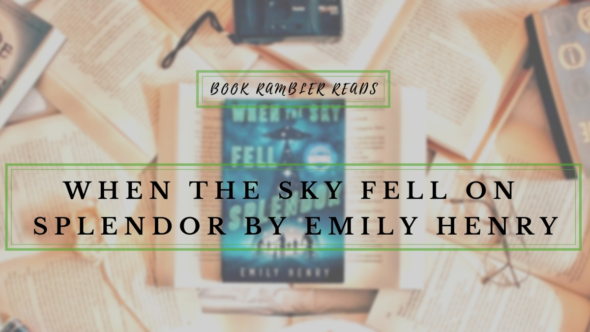 They're among us or are they ? | When the Sky Fell on Splendor [ARC Review]