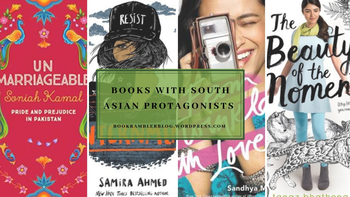 Books with South Asian protagonists feat. recs by some South Asianbloggers