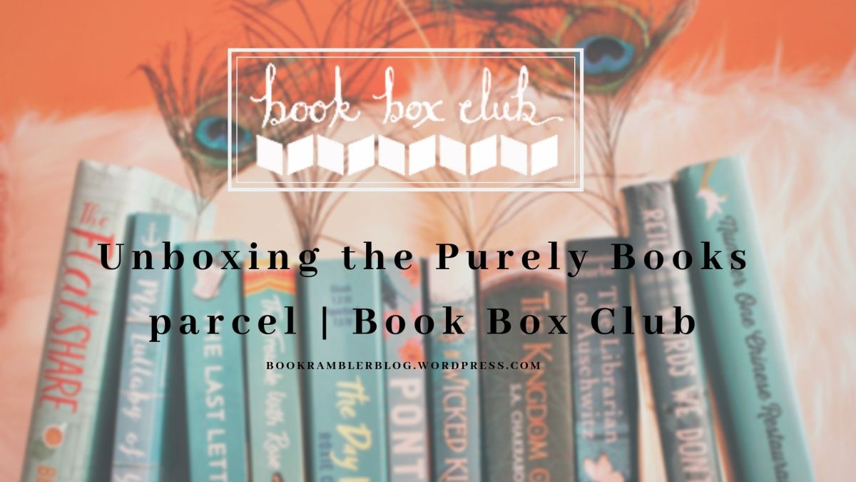 Unpacking the Book Box Club's Purely Books subscription