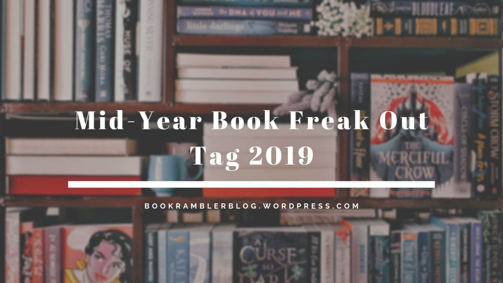 Mid-Year Book Freak Out Tag (2019)