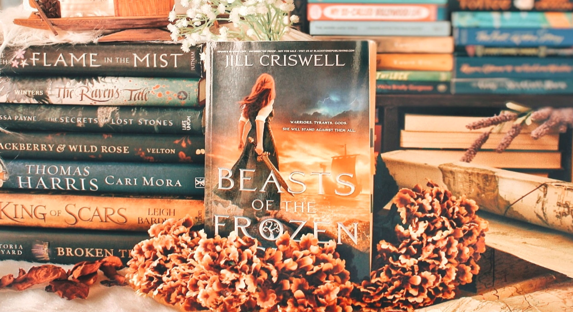 Review & Intl Giveaway: Beasts of the Frozen Sun, written by Jill Criswell