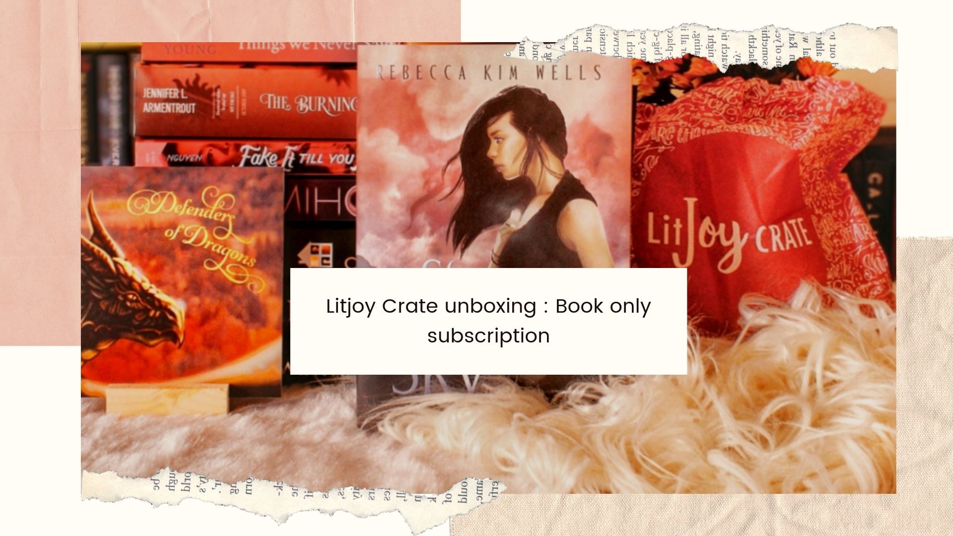 Unboxing LitJoy Crate's July Defenders of Dragons box